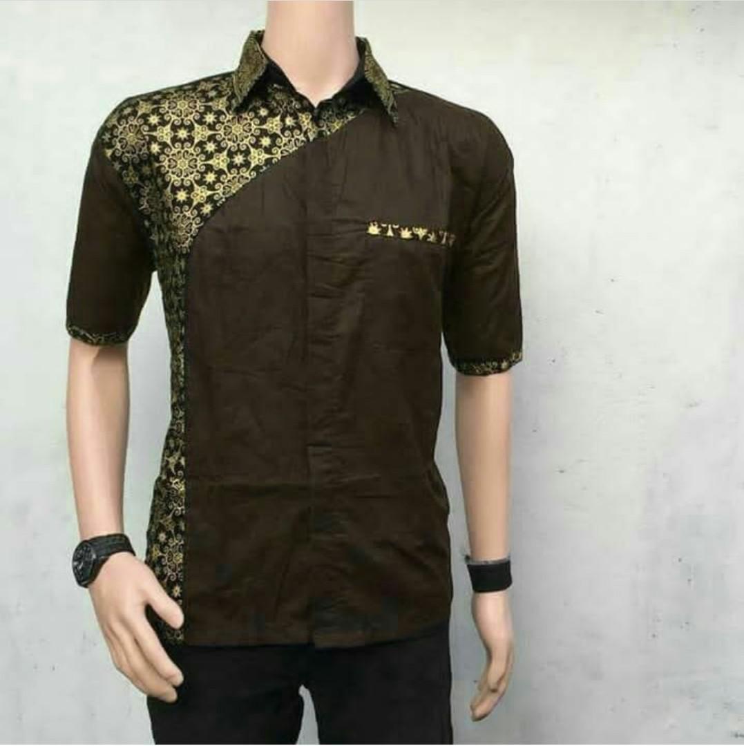 Baju Batik Kerja Cowok: Baju Seragam Batik Pria Kemeja Batik Baju Kerja Murah