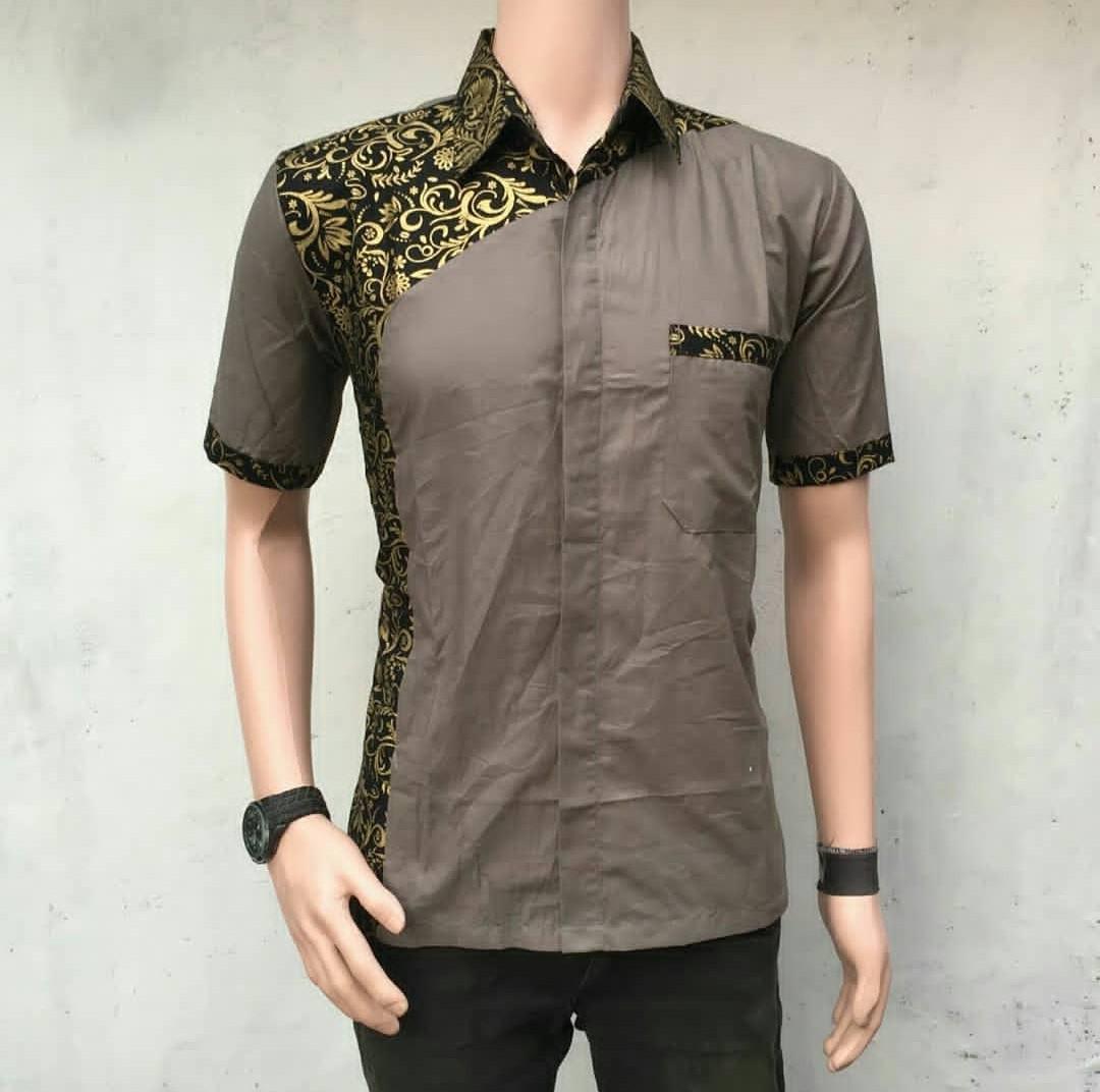 Harga Baju Batik Pria Lusinan: Baju Seragam Batik Pria Kemeja Batik Baju Kerja Murah