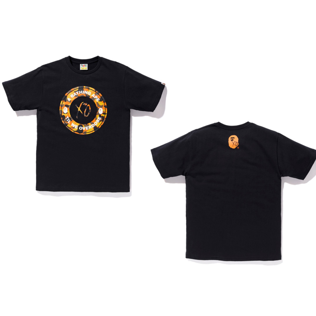 385d1c950 BAPE X XO Busy Works Tee, Men's Fashion, Clothes, Tops on Carousell