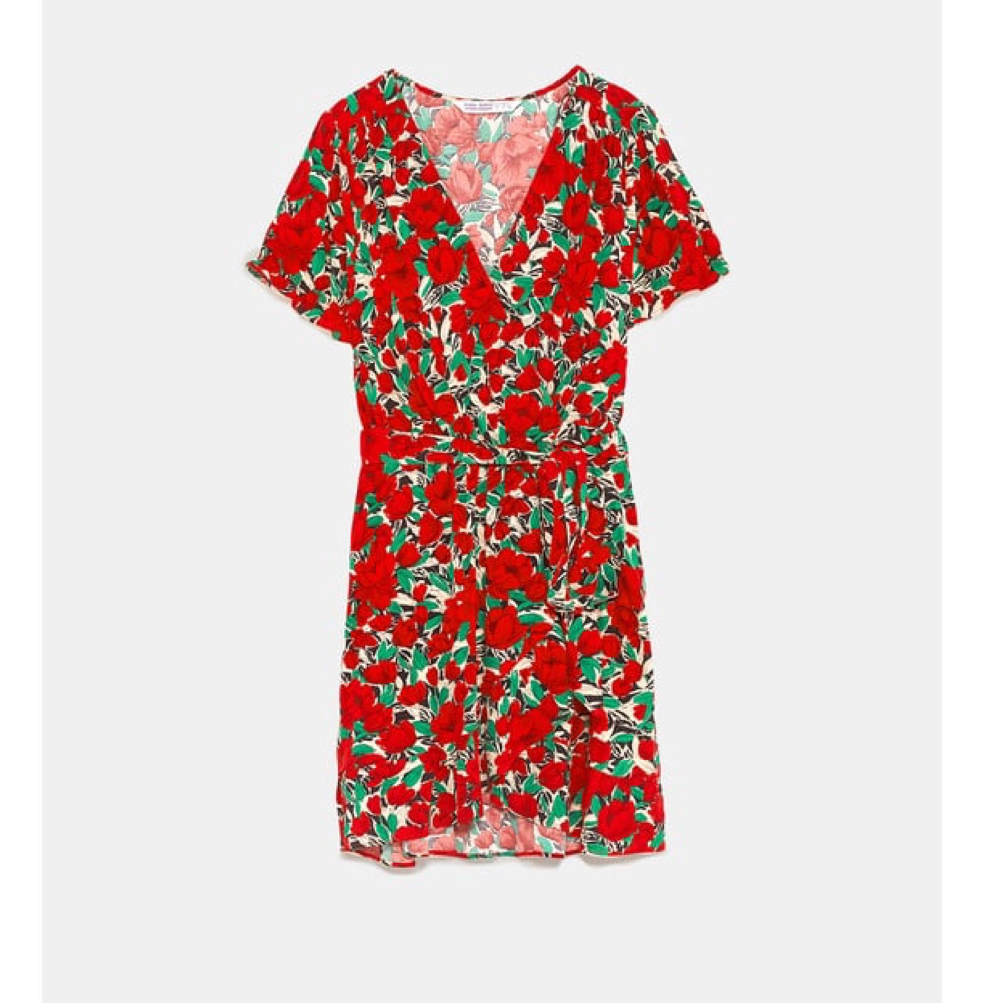 21ee6fe05c3 (BN) 💯 Authentic Zara Short Sleeve Crossover Dress with Floral Print size  XS, Women's Fashion, Clothes, Dresses & Skirts on Carousell