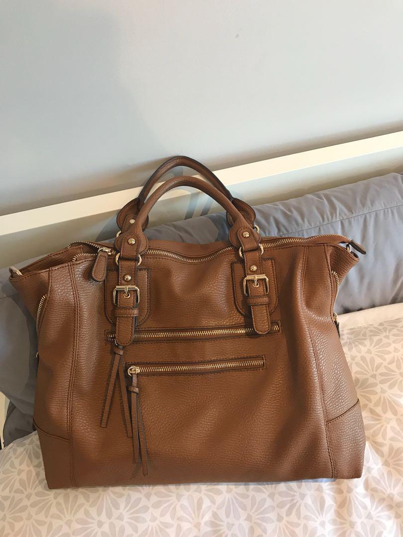 Camel Aldo Travel Bag