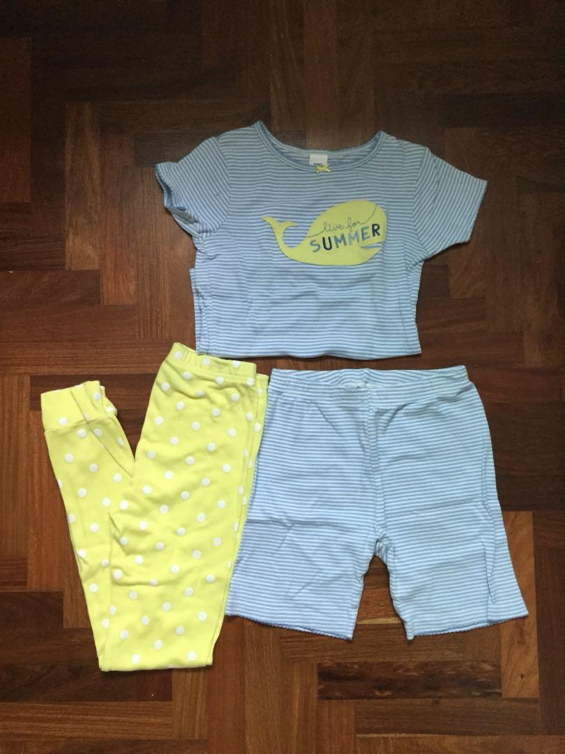 e2a3325a4362 Carter s 3-piece pyjamas set