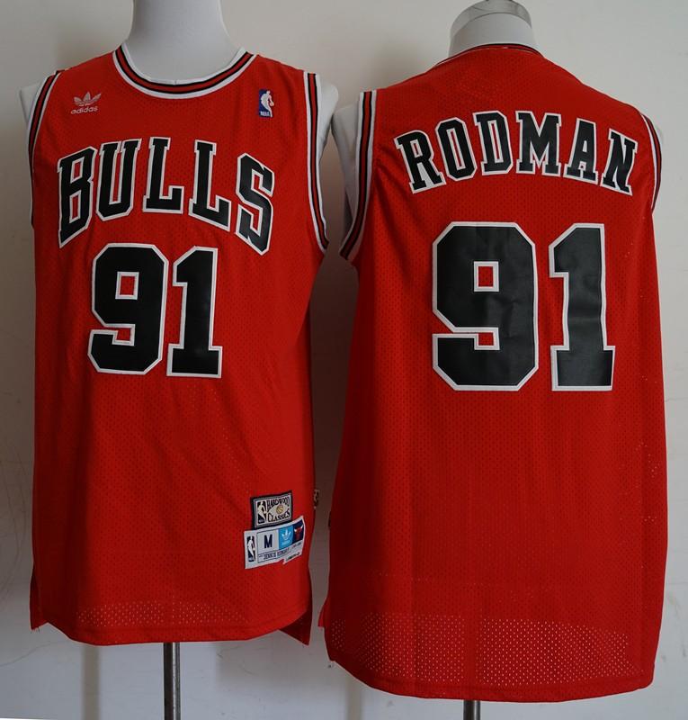 Chicago Bulls Dennis Rodman Swingman Jersey 371e9984a