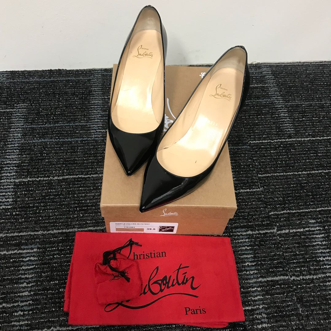 c0b6c6a9a8a6 Christian Louboutin Pigalle 55 Patent Heels (sz39.5)