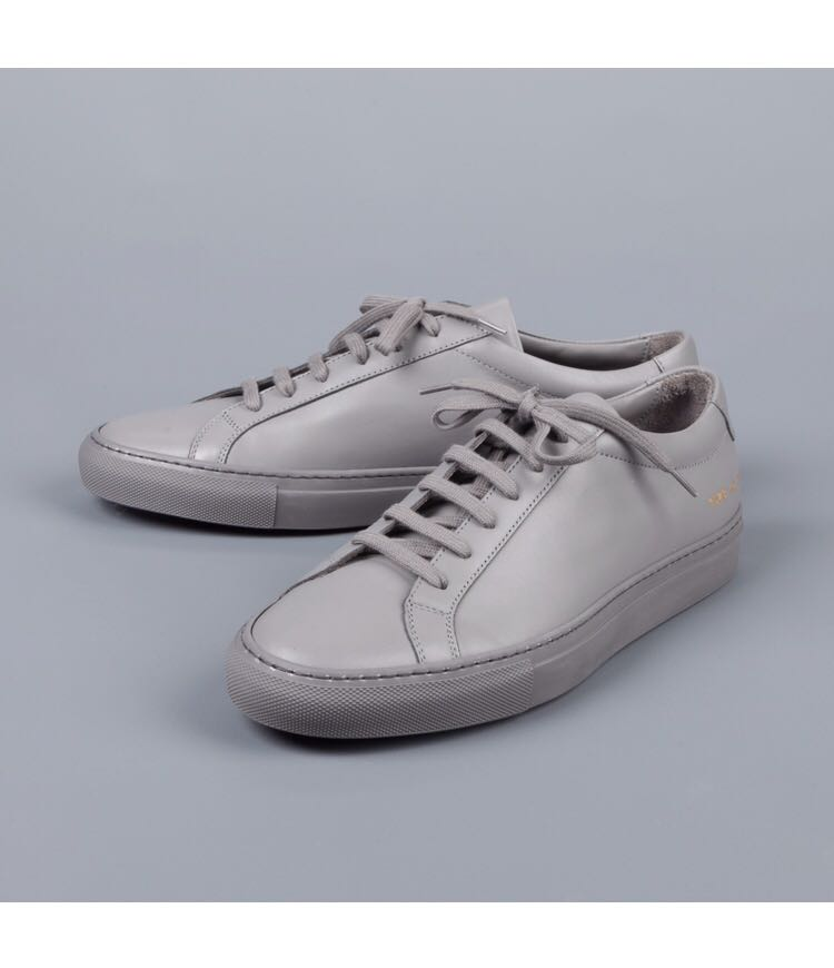 676935bc6b5e Common Projects Achilles Low in Original Grey