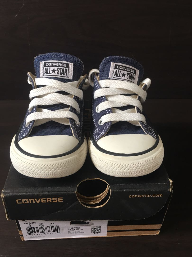 a454e015a42 Converse All Star Toddler Shoes USA 6