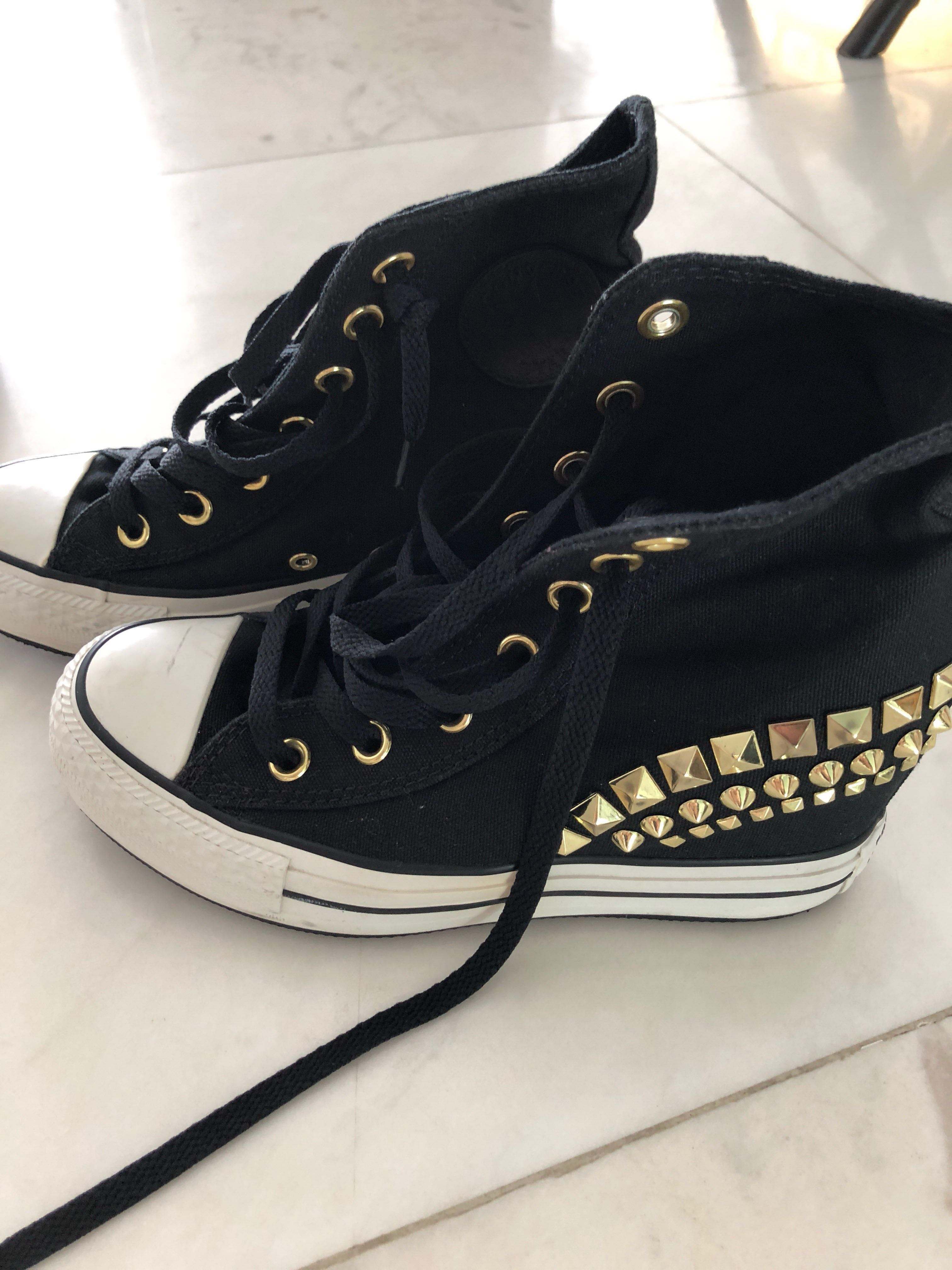 ff02834ea34084 Converse Platform Sneakers Studded Limited Edition