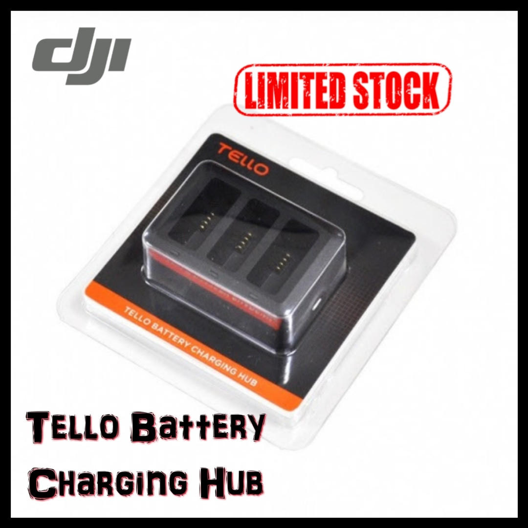 DJI Tello Battery Charging Hub/Ready Stock/Local DJI