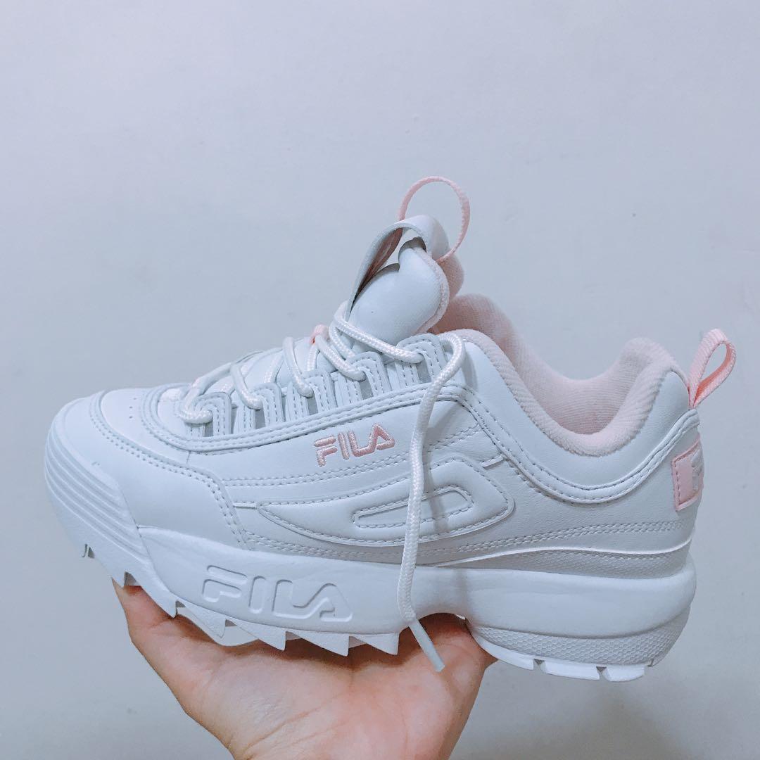 Fila Disruptor 2 White/Pink, Women's