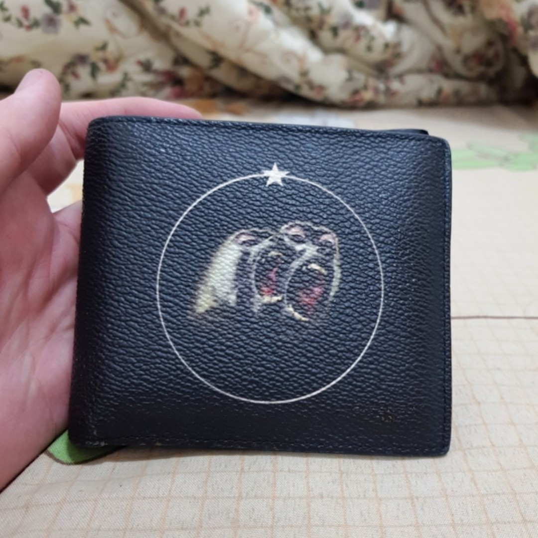 c752e18406b3 Givenchy Monkey brothers bifold wallet original not gucci lv hermes ...