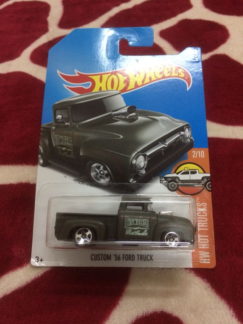 Hot Wheels Custom 56 Ford Truck Toys Games Diecast Toy