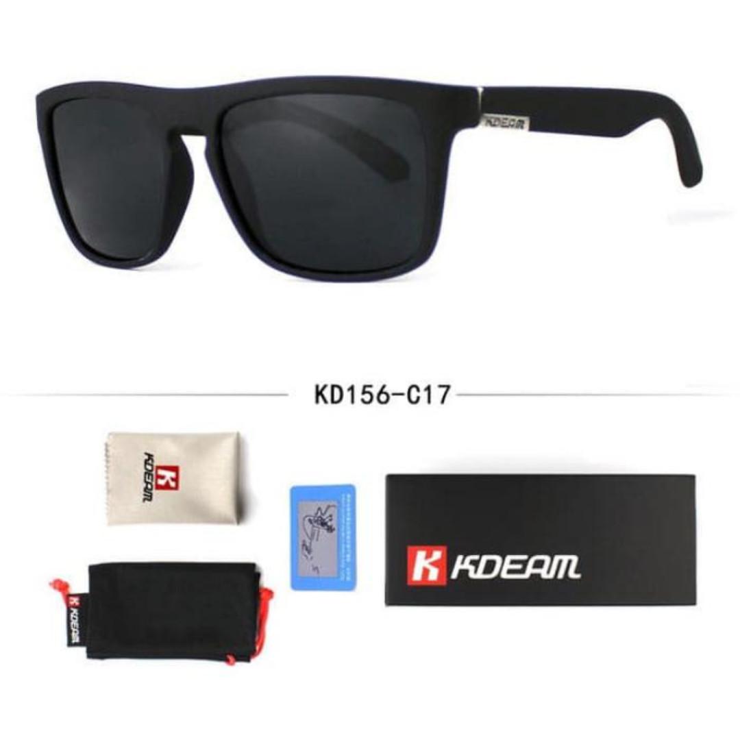 KDEAM Kacamata Polarized Import Sunglasses - KD156 - Kuning f074a7996c