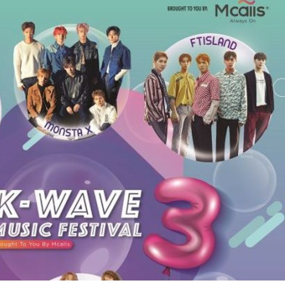 Kwave 3 Music Festival Tickets X 2 Zone L Vouchers Tiket Motogp Sepang 2018 02 04 November Vr46 Tribune Event On Carousell