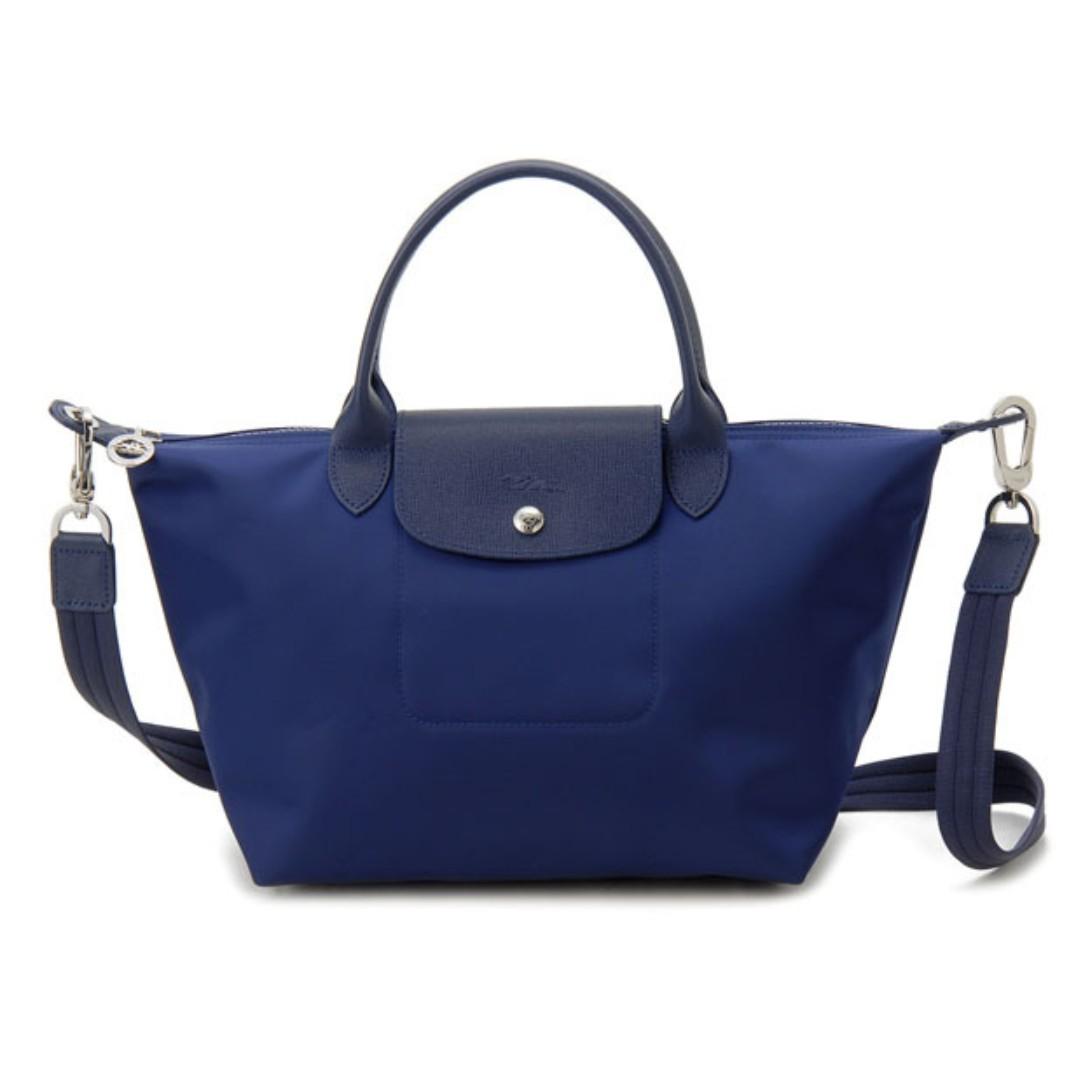 576d252f481 Longchamp Le Pliage neo 1515 Medium 1512 Small Navy ( blue ) Color ...