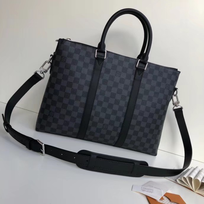 41fea69d4d lv anton office bag, Men's Fashion, Bags & Wallets on Carousell