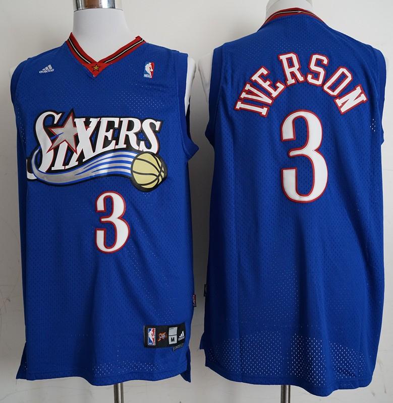 finest selection d249e 51a10 NBA 76ers Allen Iverson Swingman Jersey