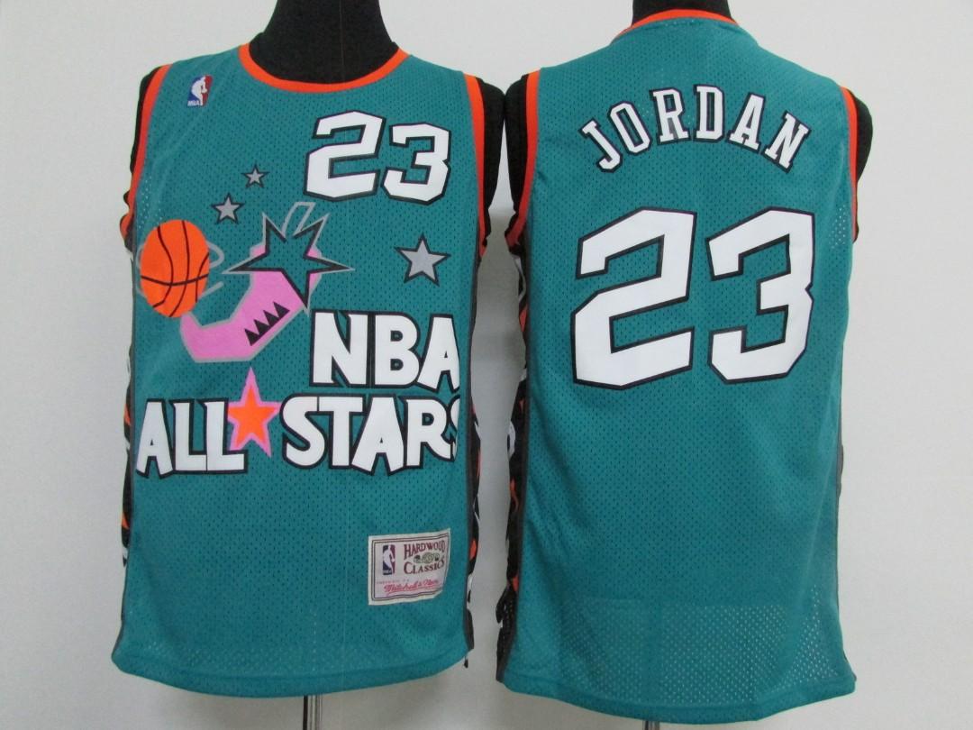 new style 7ea6f 34465 NBA All Star Chicago Bulls Michael Jordan Swingman Jersey ...