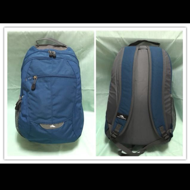 ✅OFFER✅ High Sierra CURVE V2 Daypack / Backpack - Pacific Charcoal