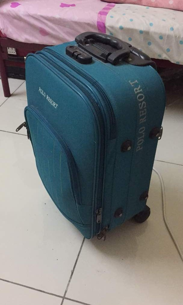 acd7de6190 Polo resort travel luggage
