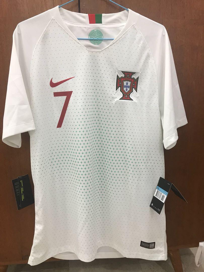 0cfc913d Portugal World Cup 2018 Away Jersey Ronaldo 7, Sports, Sports ...