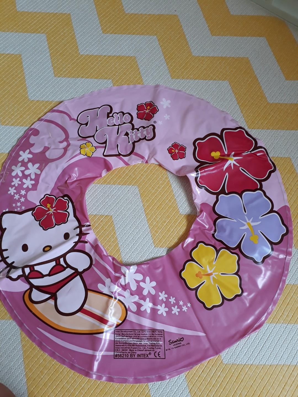 6391b8014a76 Preloved Hello Kitty swim ring