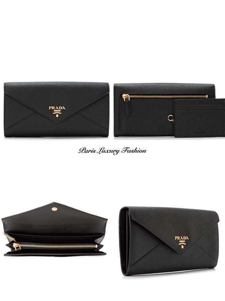 87025d5671d91d Pre-order | Prada Saffiano Leather Wallet, Luxury, Bags & Wallets ...