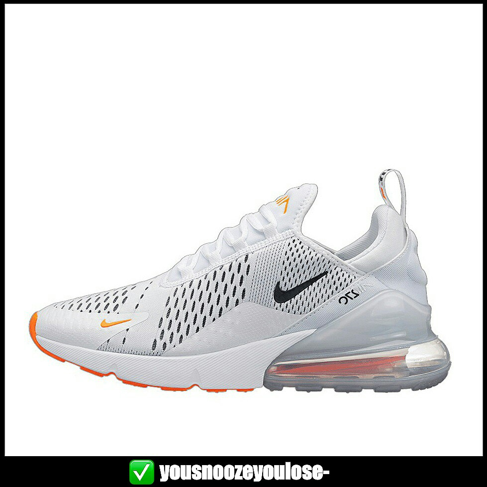 new arrivals b4f26 dc486 [PREORDER] NIKE AIR MAX 270 JUST DO IT JDI WHITE ORANGE, Bulletin Board,  Preorders on Carousell
