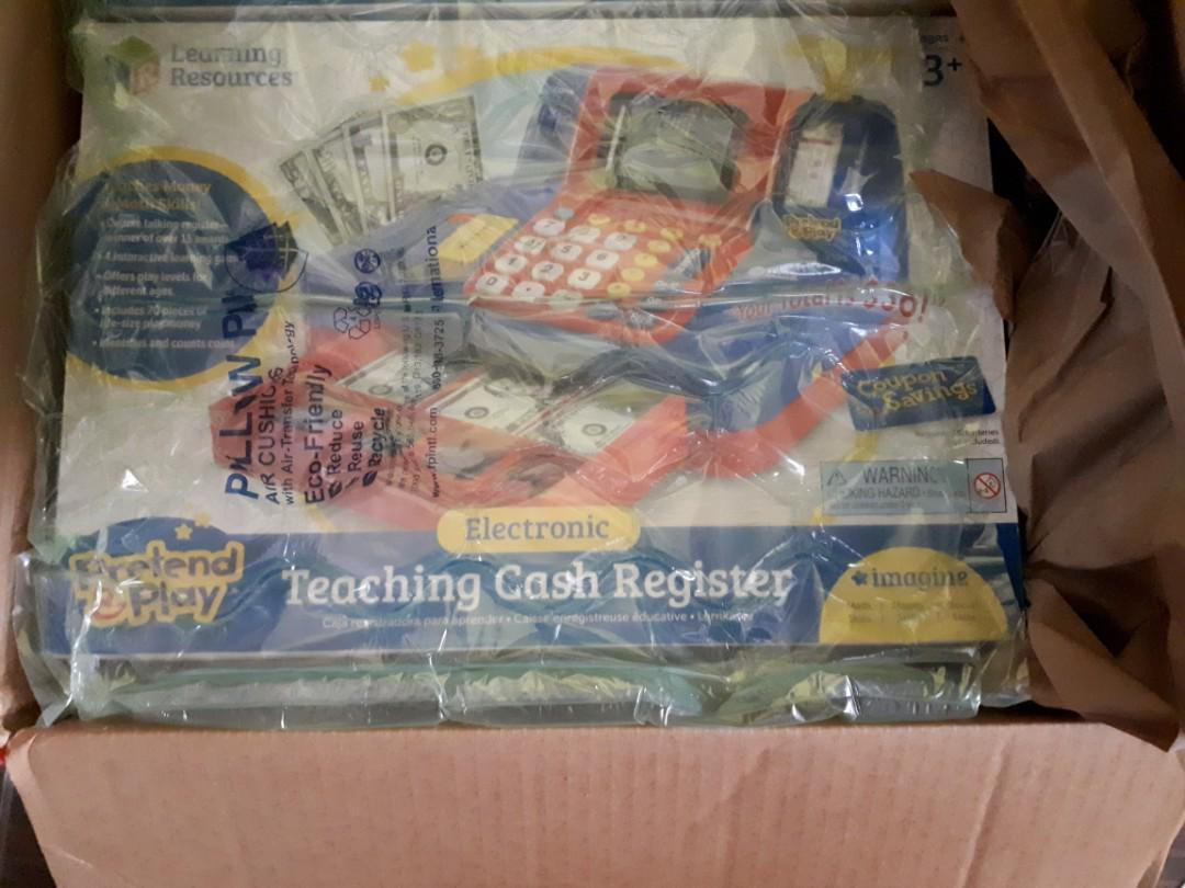 Pretend play Cash Register from USA Authentic and New