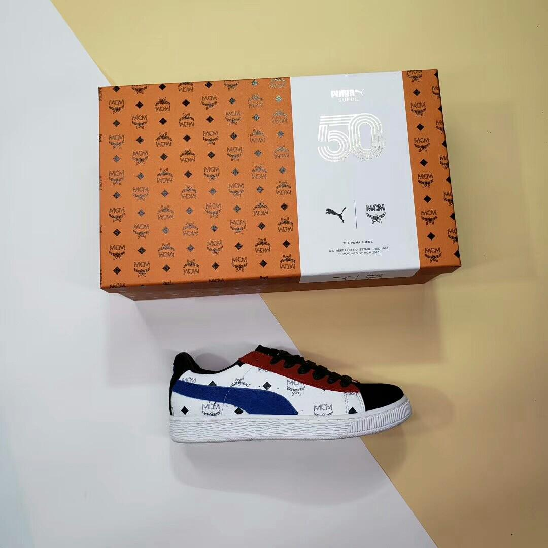 hot sale online 6b862 685a8 Puma X MCM Suede*, Bulletin Board, Preorders on Carousell