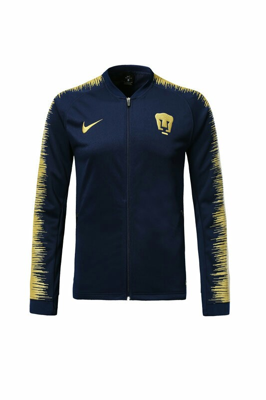 a19059f6458 Pumas Unam 18-19 Dark Blue Jacket, Sports, Sports Apparel on Carousell