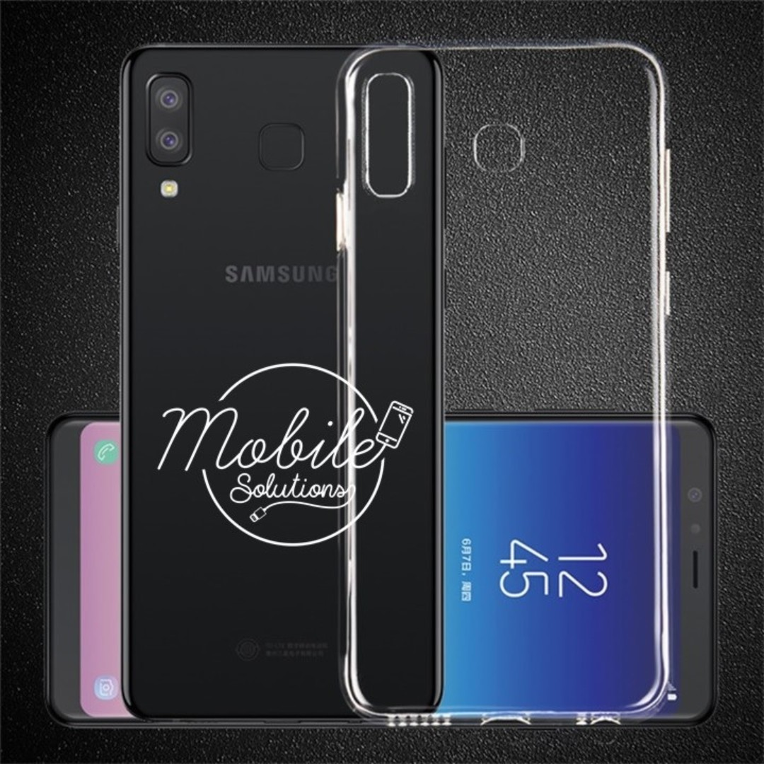 huge discount 8e271 ef239 Samsung Galaxy A8 Star Clear TPU Case (Anti Water Marks)