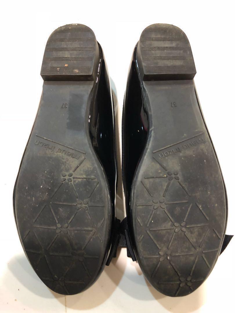 Shoes Black patent ballet pumps