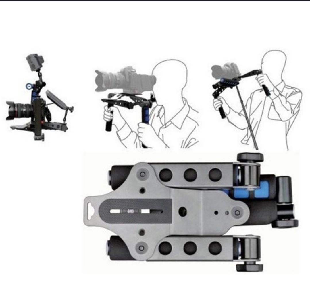 Universal DSLR Filmmaking System Shoulder Mount Stabilizer