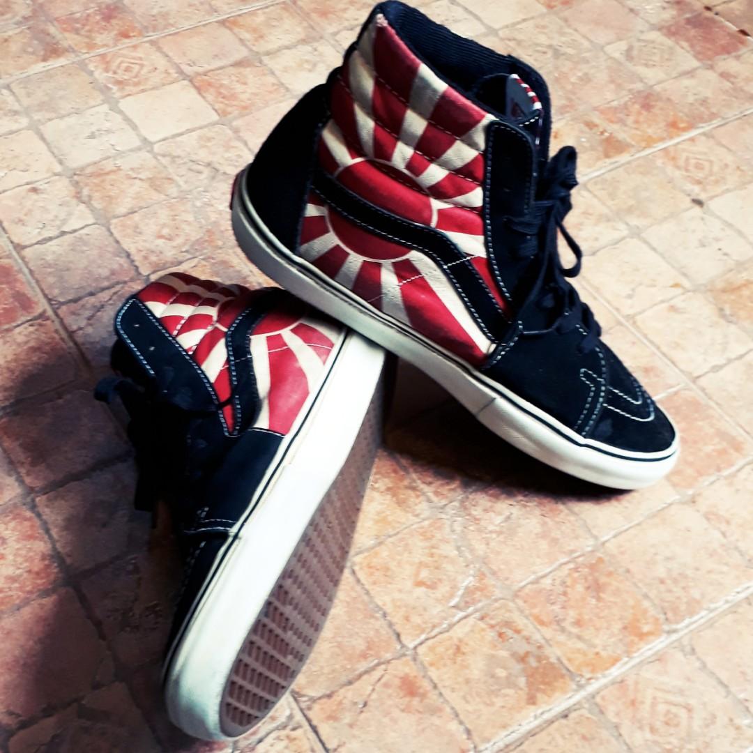 58ccd96727 Vans x Hosoi Sk8 hi shoes