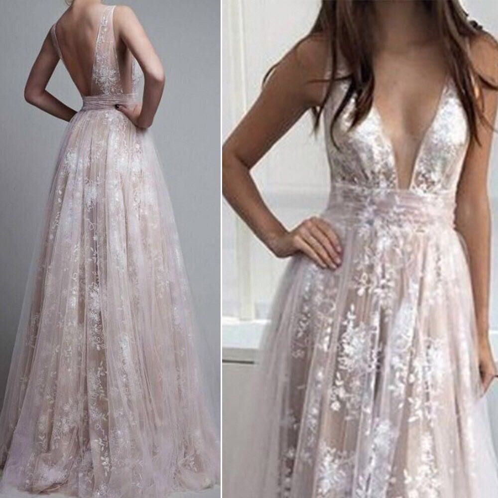 5053fb3dfa32 Womens Lace Evening Gown