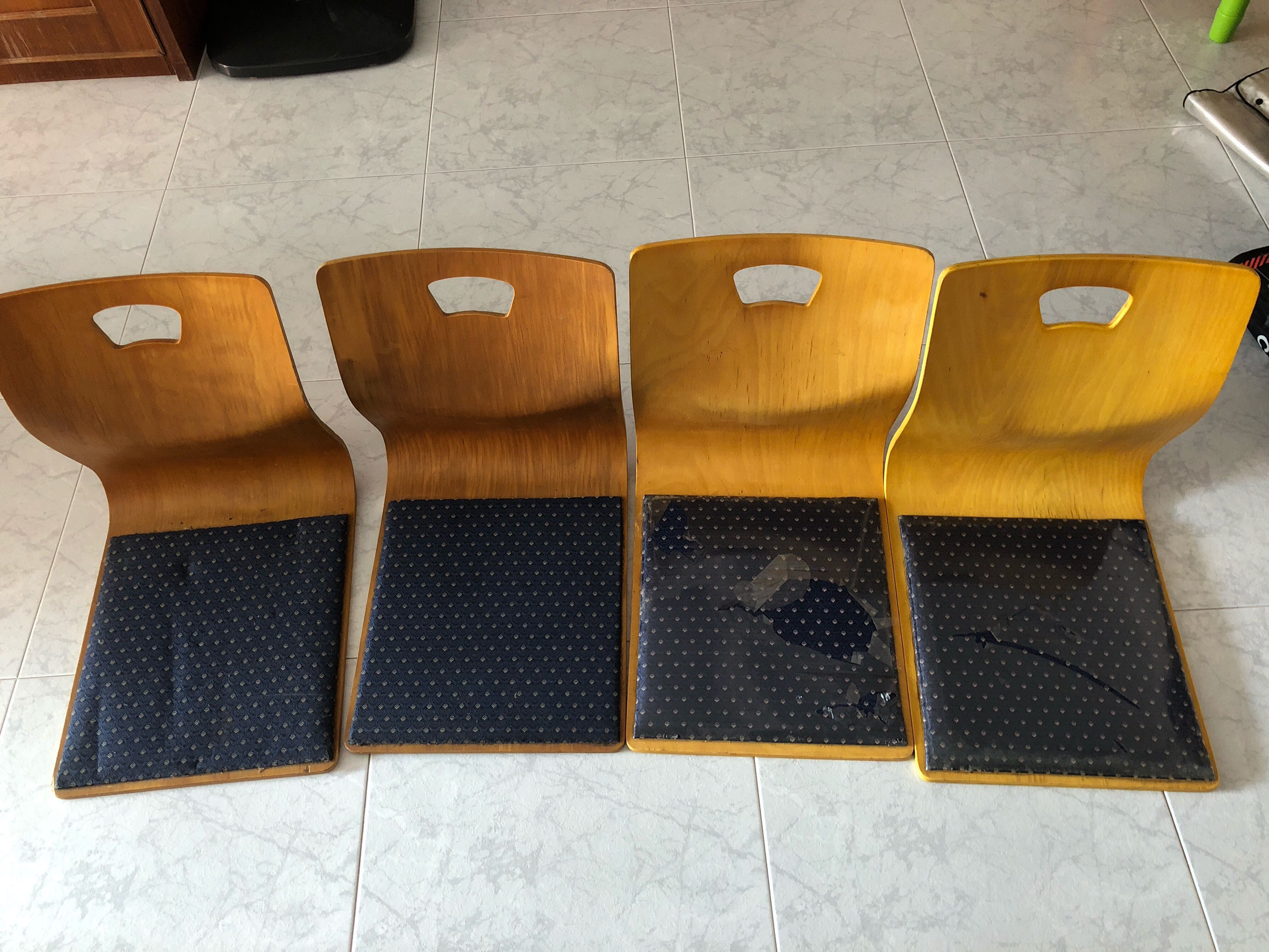 & Wooden tatami chair Furniture Tables u0026 Chairs on Carousell