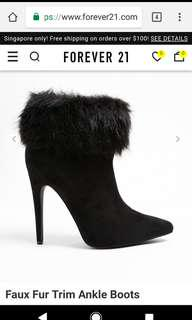 Forever 21 Boots heel