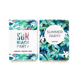 Summer Party Ipad Casing