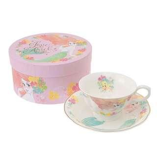 迪士尼 小魚仙 Disney Ariel 花茶杯 英式茶杯套裝