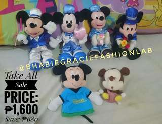 Mickey Mouse Bundle Stuffed Toys