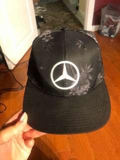 Formula one Mercedes fitted cap