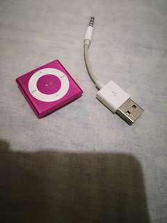 Ipod Shuffle 4th generation 2gb capacity