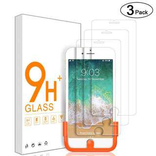 [3 Pack] GG Tempered HD Glass Screen Protector for iPhone