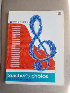 Teachers Choice for Young Pianist Book