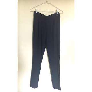 Forever 21 Navy Blue Soft Pants