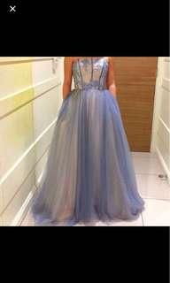 Beautiful blue formal dress
