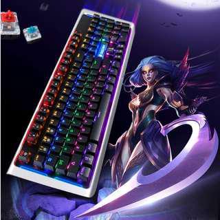 (FREE XL mousepad) Original SADES K12 MoonBlade Real Mechanical Keyboard