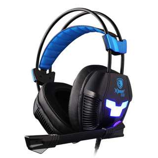 SADES Xpower Plus Stereo Gaming Headphone with mic