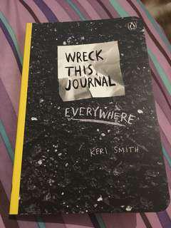 Brand new  Wreck this journal