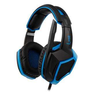SADES Luna Virtual 7.1 Gaming Headphone Headset with mic
